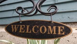 Cartas de bienvenida
