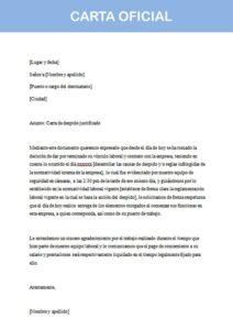 Carta Oficial